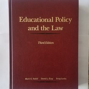 Vintage Book-Educational Policy and the Law